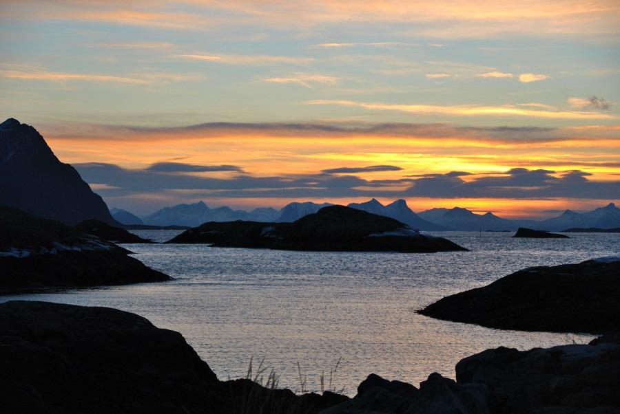 L'alba di Svolvær