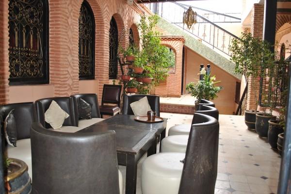 L'interno del mio Riad a Marrakech