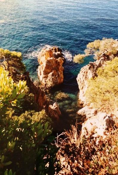 Le calette nascoste in Costa Azzurra