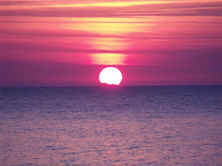 Il mio primo tramonto in Sicilia