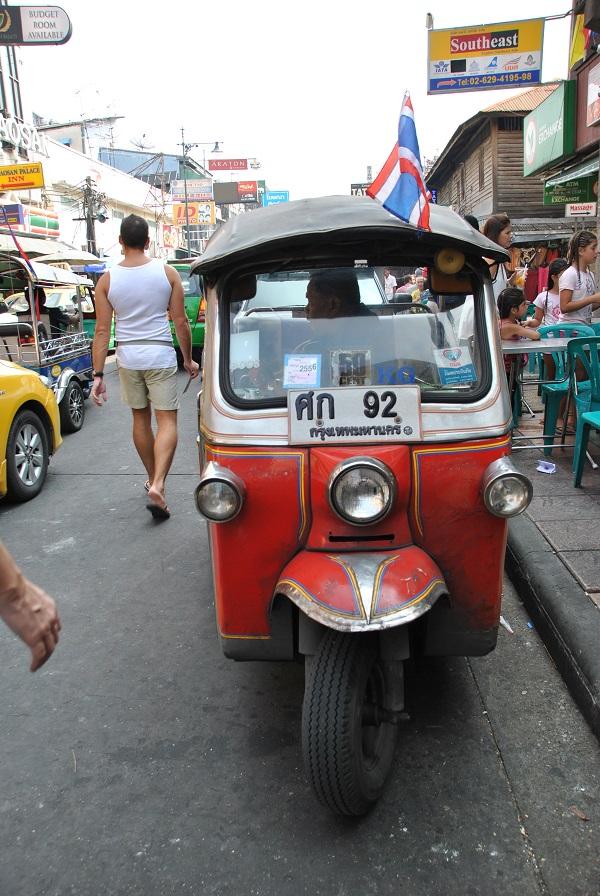 Il classico tuk tuk di Bangkok