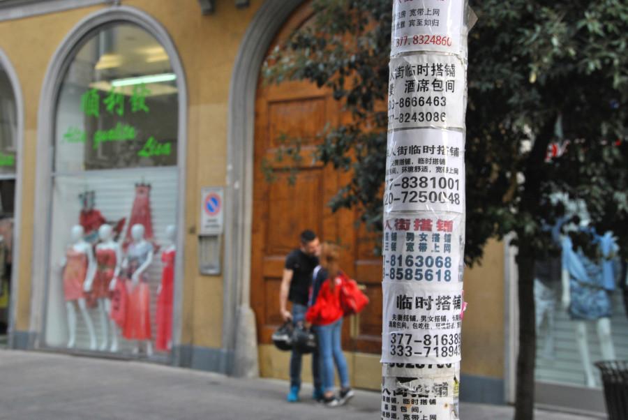 Il quartiere di Chinatown a Milano