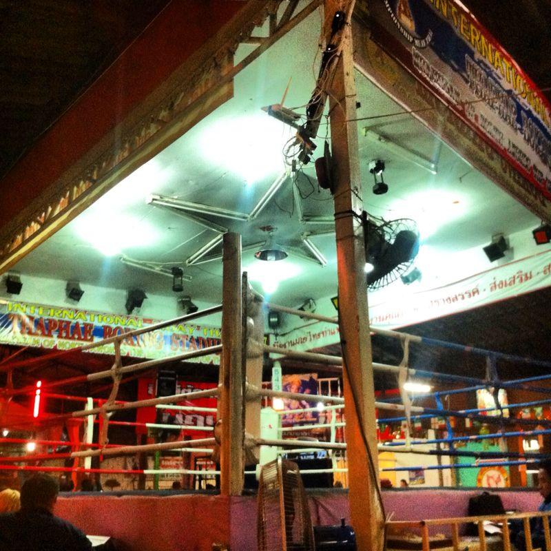 Muay Thai - la boxe thailandese