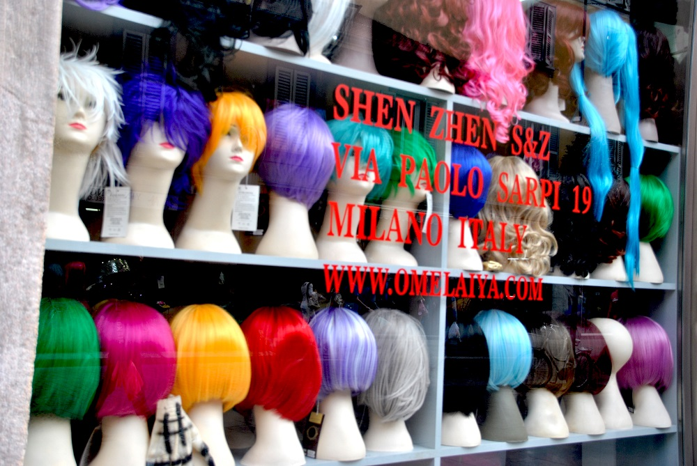 Parrucche a Chinatown
