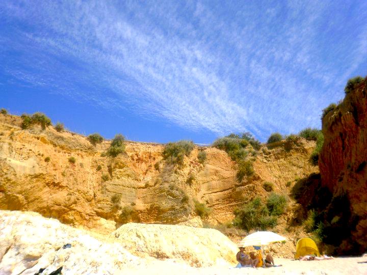 I colori delle spiagge di Portimao