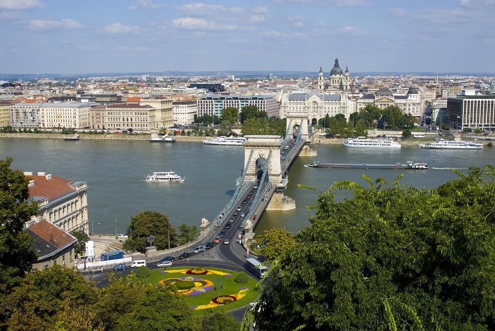Budapest: vista dall'alto