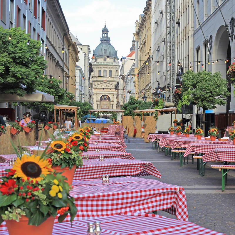Suggestivi ristoranti a Budapest