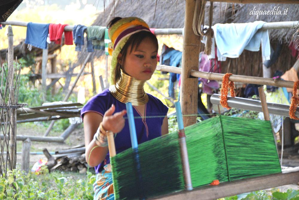 Donne Giraffa a Chiang Rai