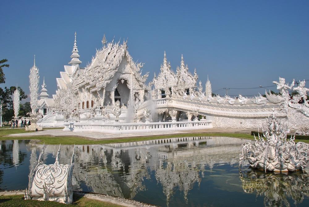 Tempio Bianco a Chiang Rai