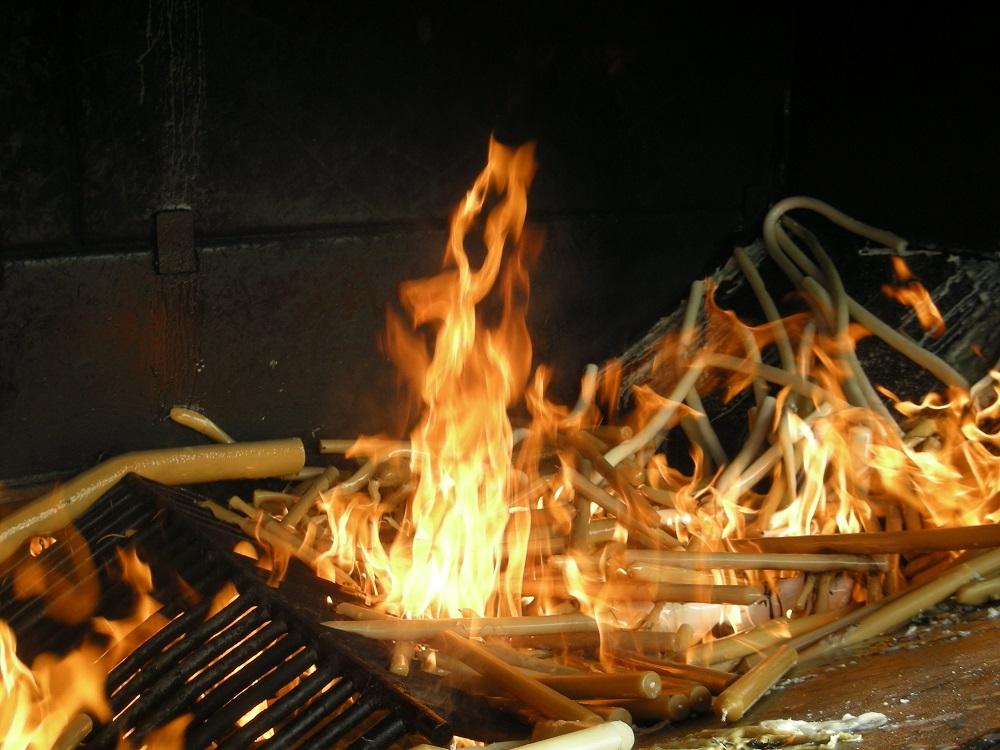 I ceri bruciano nel forno di Fatima
