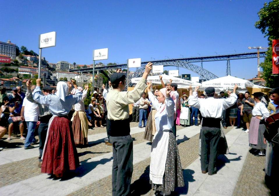Una festa del Vino a Vila Nova de Gaia