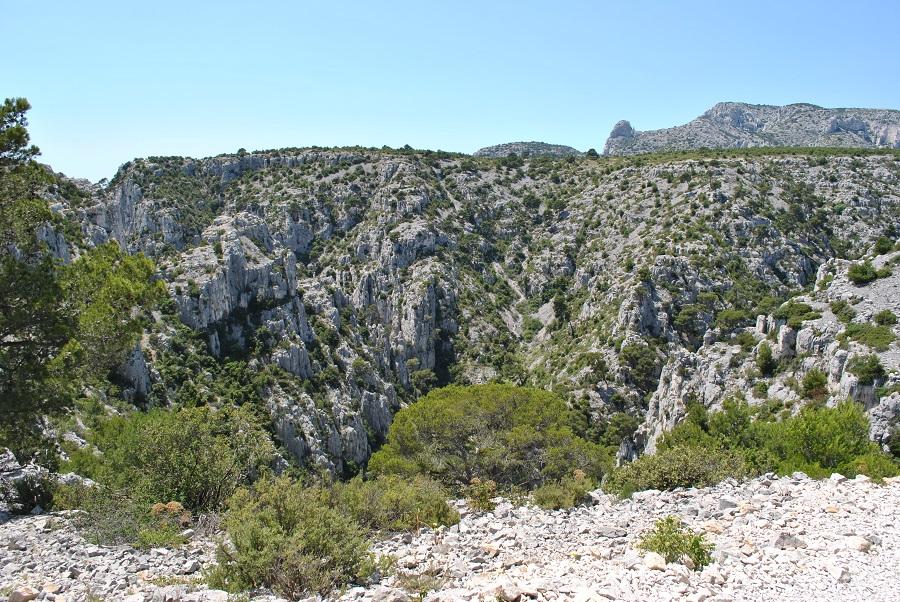 Il paesaggio roccioso