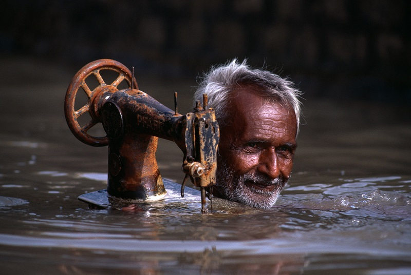Porbandar, India, 1983