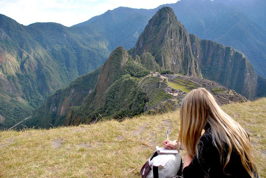 Ispirazione sul Machu Picchu