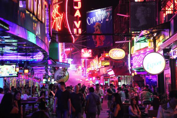 Patpong a Bangkok