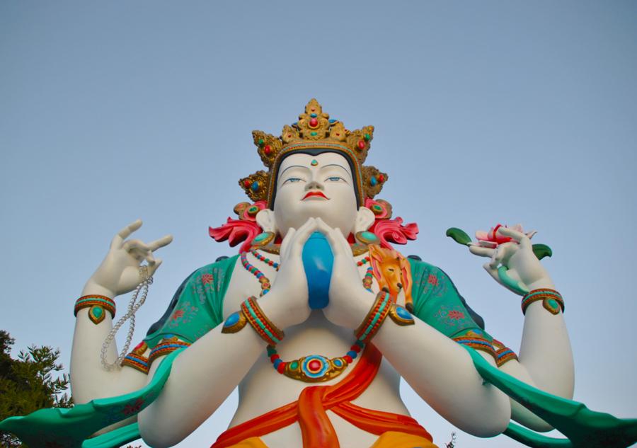 Avalokiteshvara, il Buddha della compassione