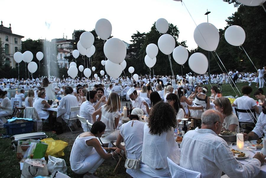 Cena in Bianco 2014, Giardini Idro Montanelli