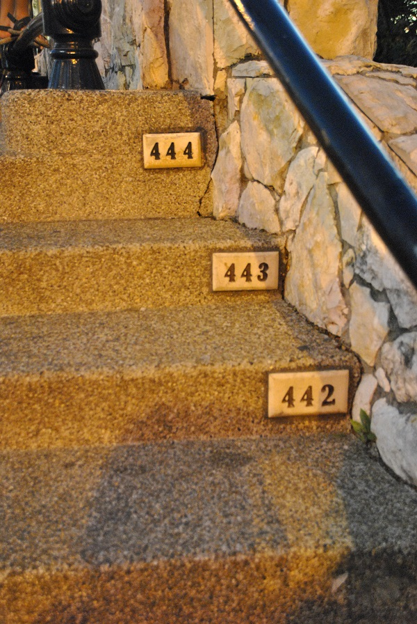 444 scalini a Santa Ana a Guayaquil