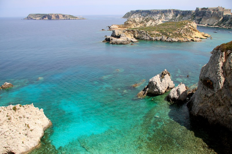 Caletta delle Isole Tremiti - le spiagge più belle d'Italia