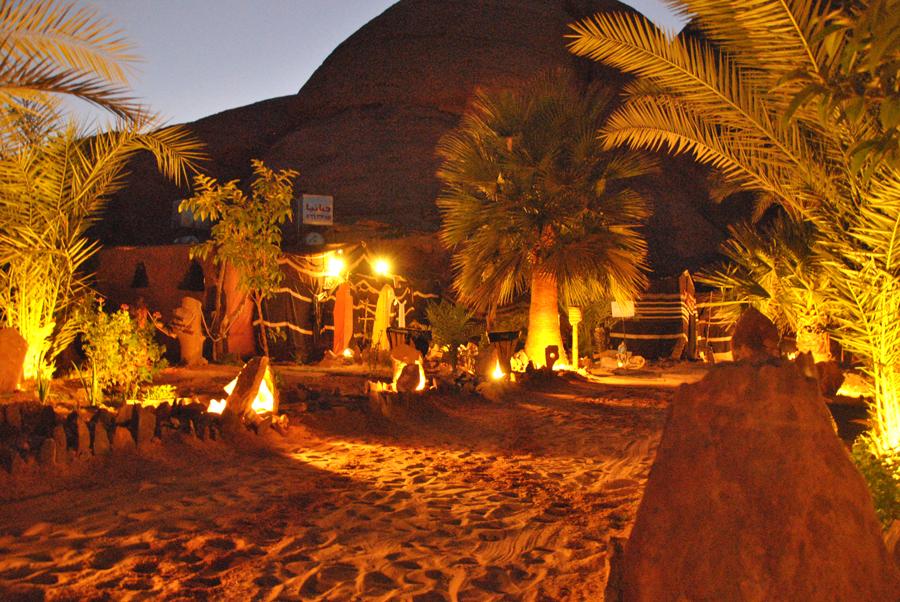 Una notte nel deserto