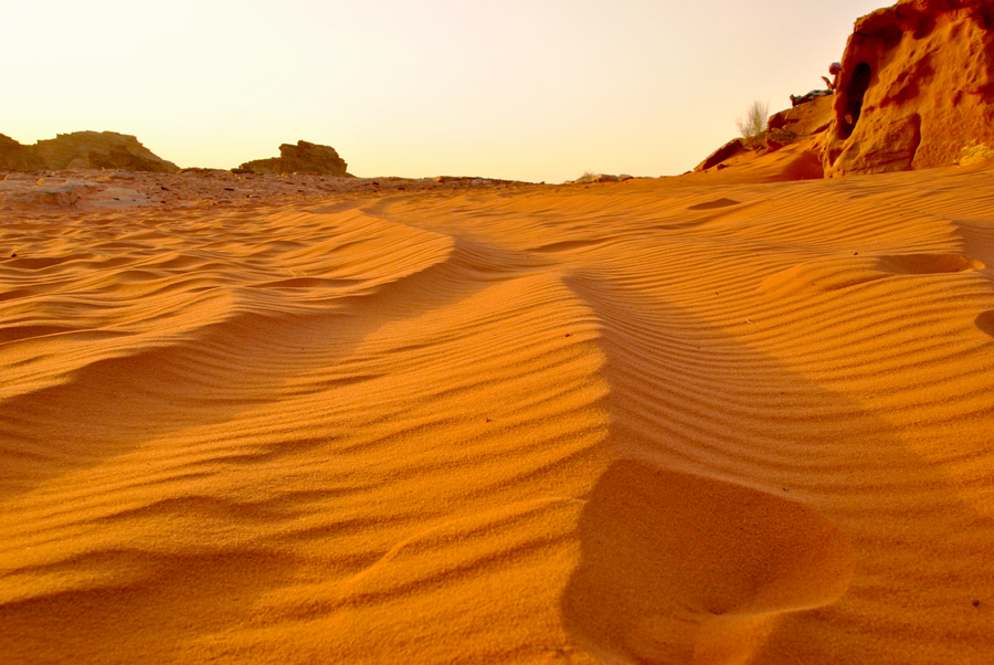 Esperienza nel deserto del Wadi Rum