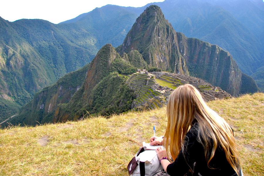 Ammirando Machu Picchu