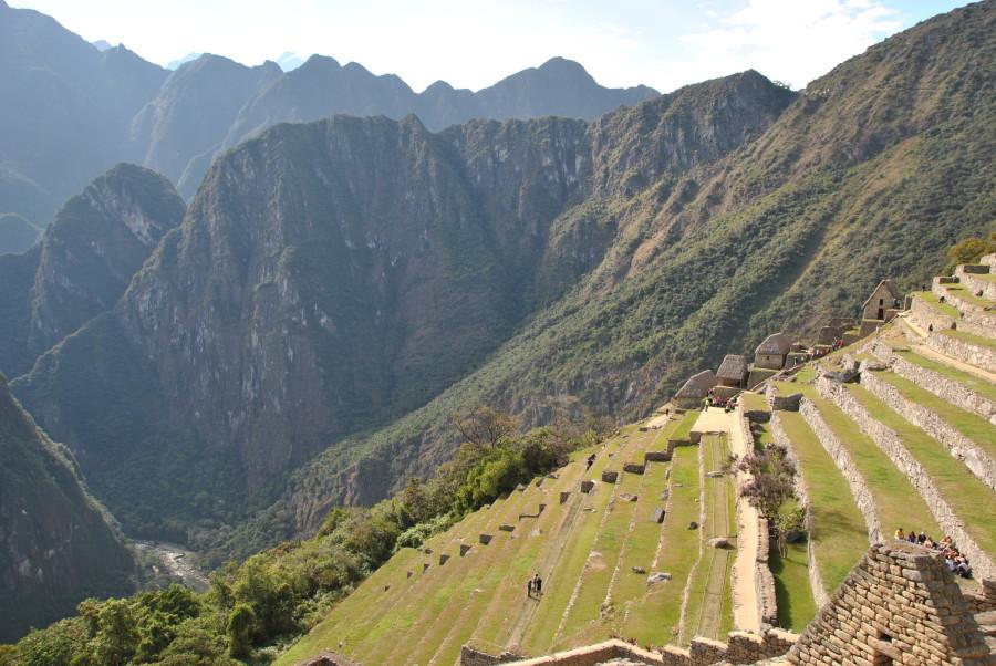 Terrazzamenti a Machu Picchu