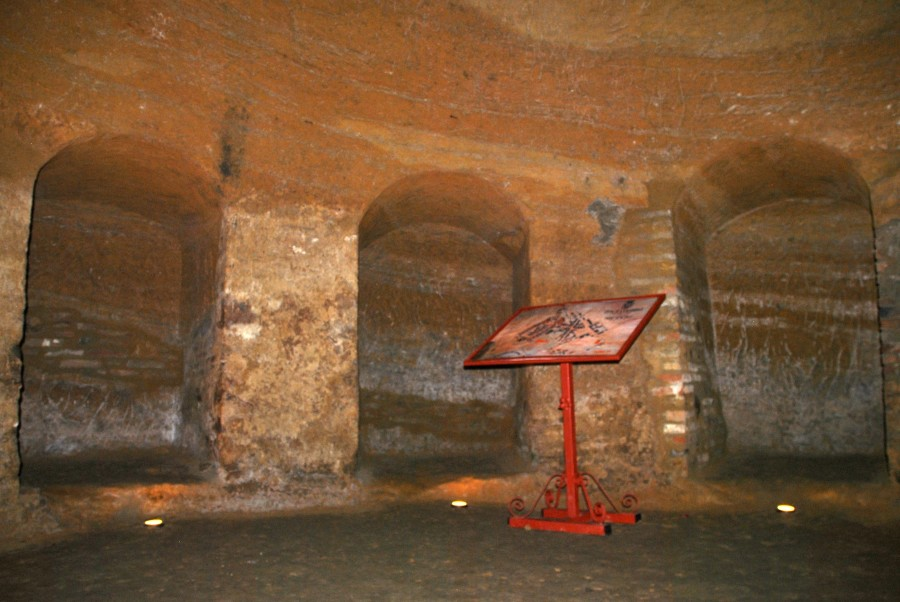 Le grotte tufacee di Santarcangelo di Romagna
