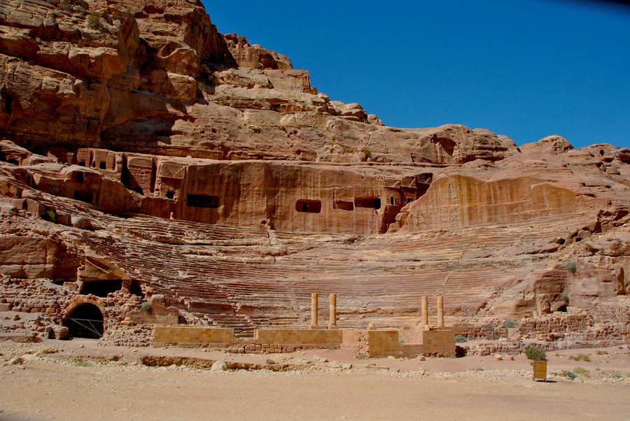 Il Teatro romani di Petra