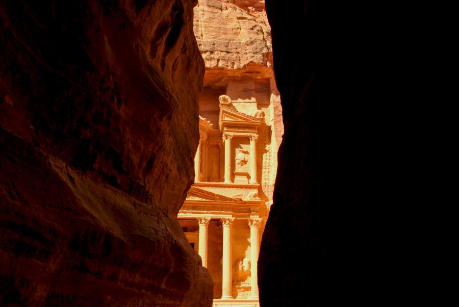 Visitare Petra in Giordania