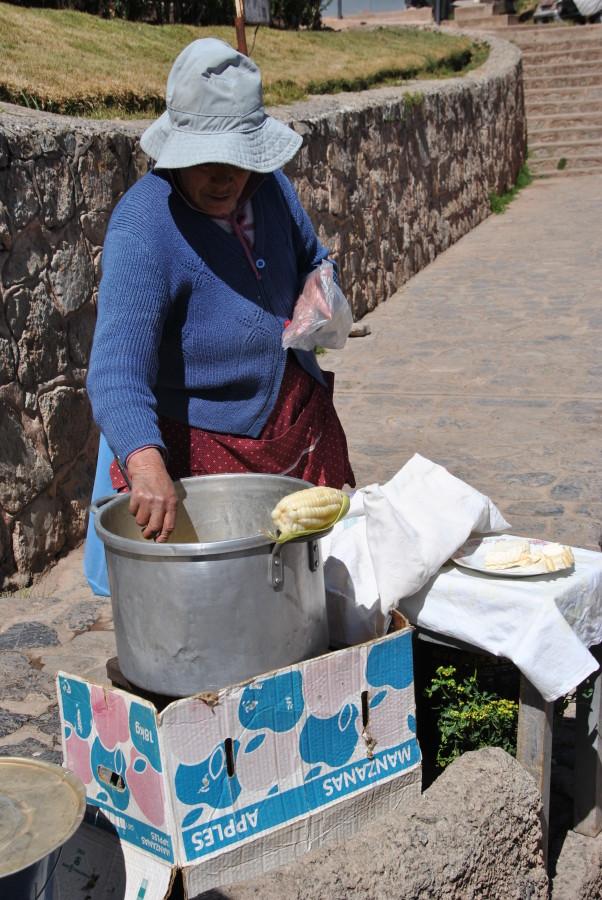Street food: mais e formaggio