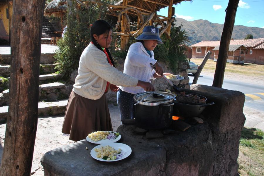 Cucinare i chicharones