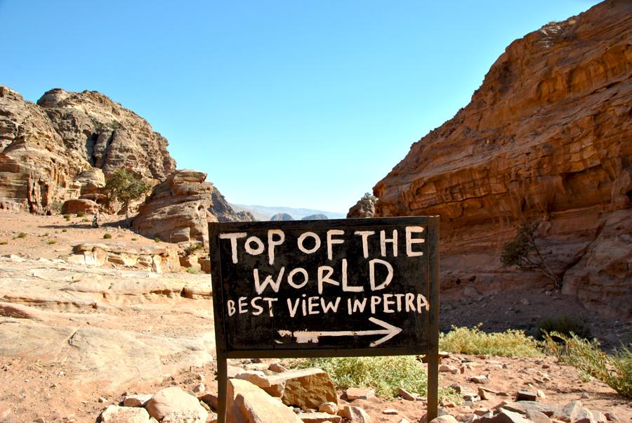 Vista sul Monastero di Petra