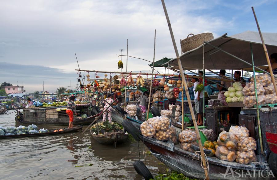 Giro sul Delta del Mekong