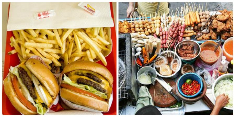 Come mangiare in vacanza