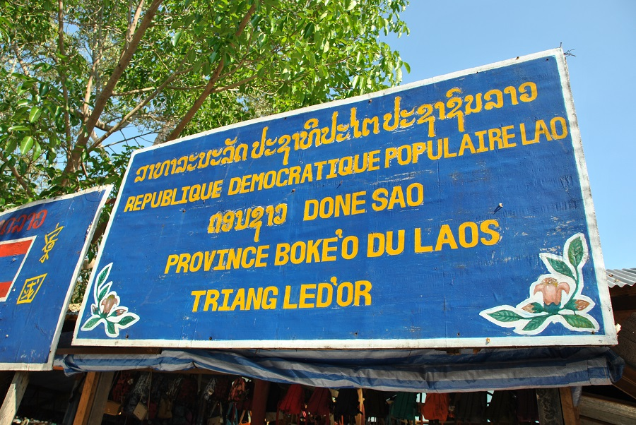 Entrare nel Laos dal Mekong