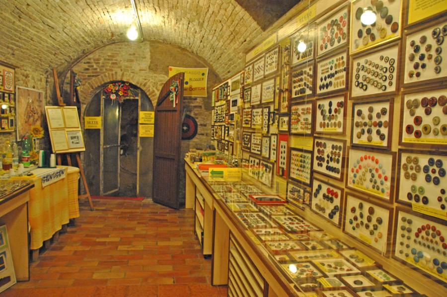 Museo dei bottoni Santarcangelo Romagna