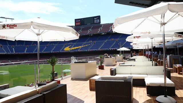 Vista su Camp Nou, foto di fcbarcelona.com