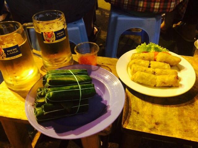 Cibo di strada vietnamita