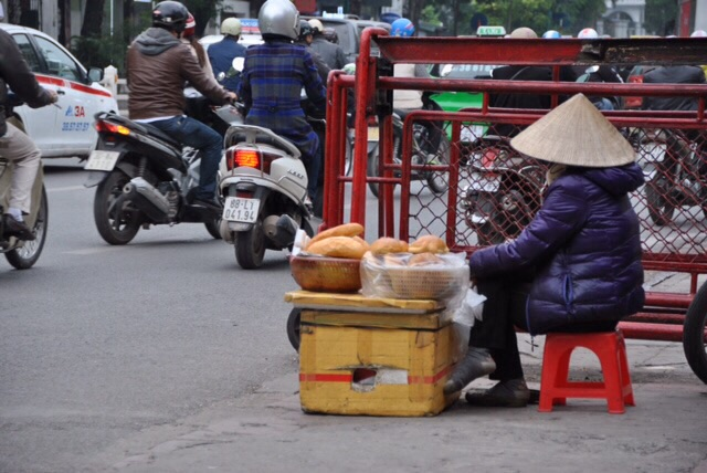 Street food in Vietnam