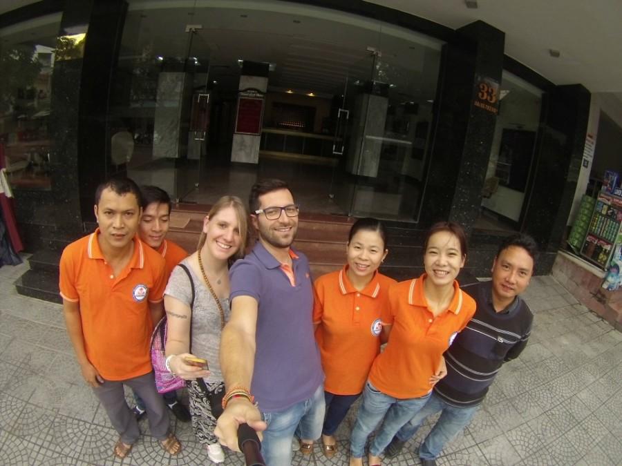 In partenza con i ragazzi di Asiatica Travel