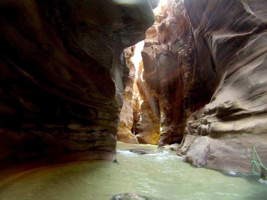 Le rocce di arenaria del Wadi Mujib