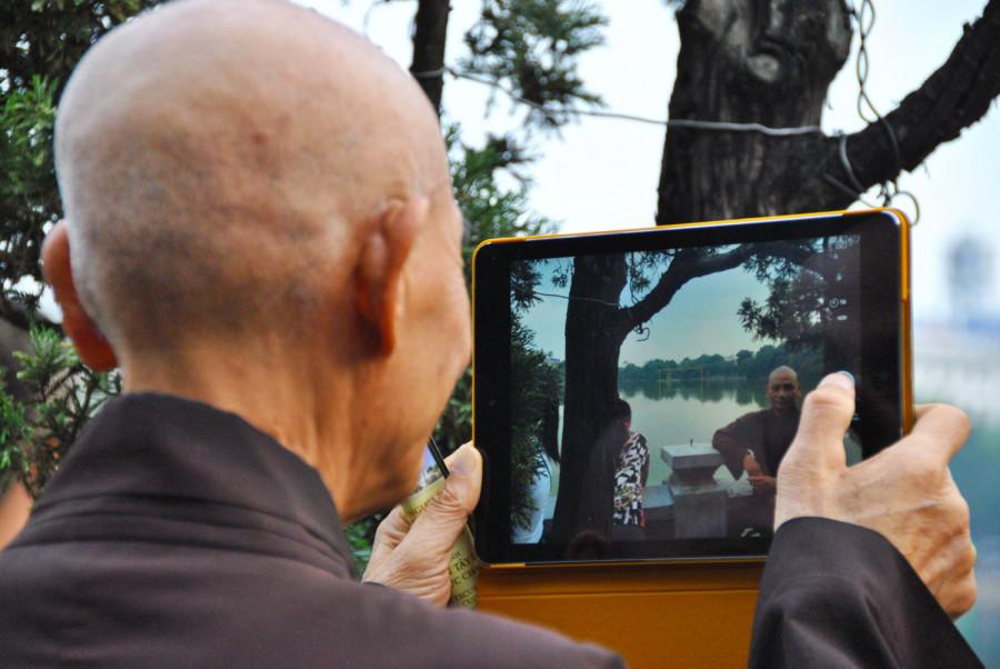 I monaci e la tecnologia
