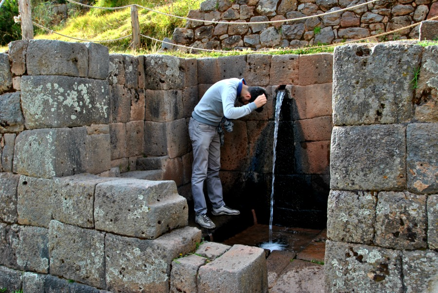 Il battesimo dell'acqua