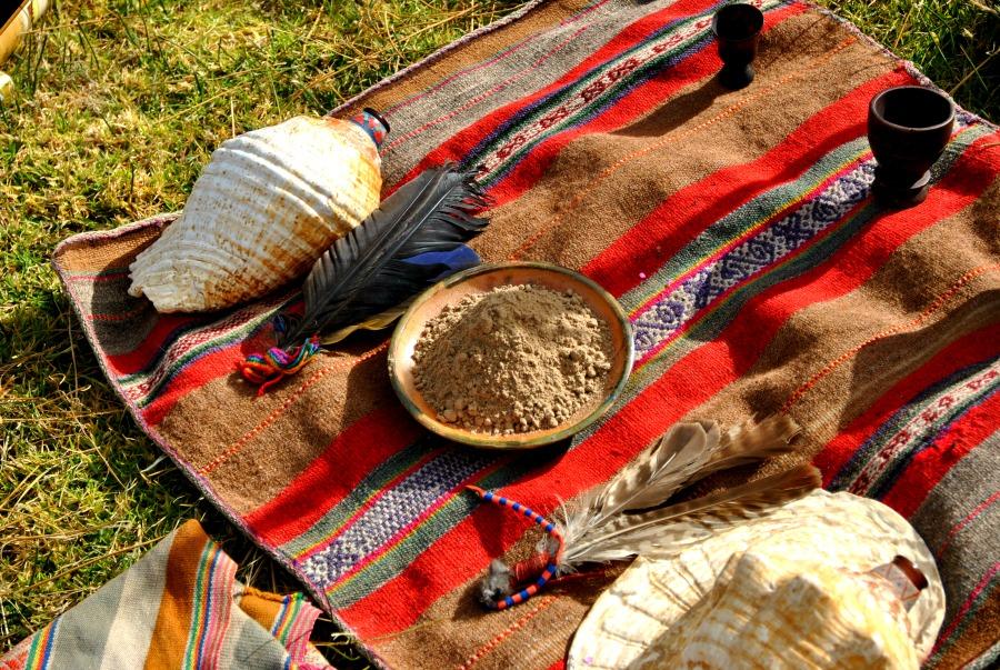 Gli strumenti utilizzati per la celebrazione della cerimonia