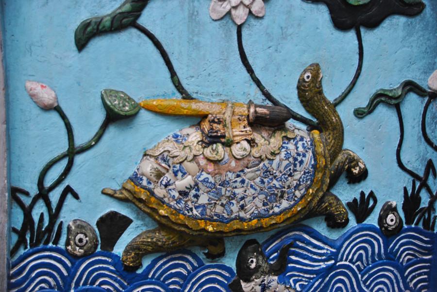 Tartaruga del lago Hoan Kiem