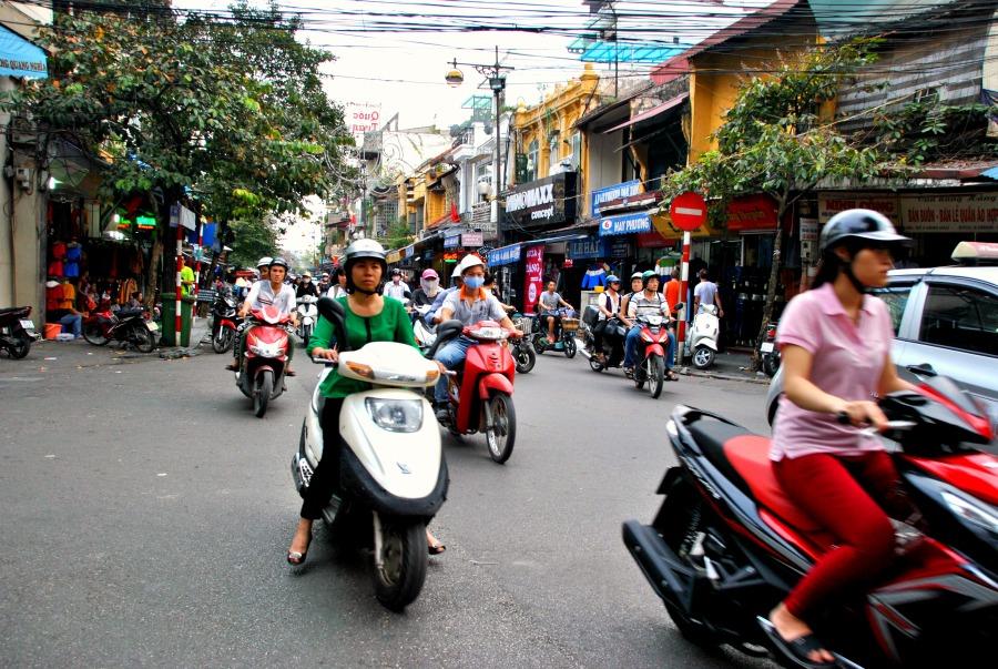 Il perché dei motorini in Vietnam