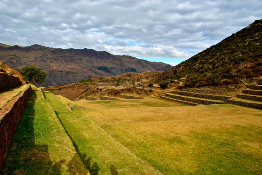 Il sito Inca dove è avvenuta la nostra cerimonia