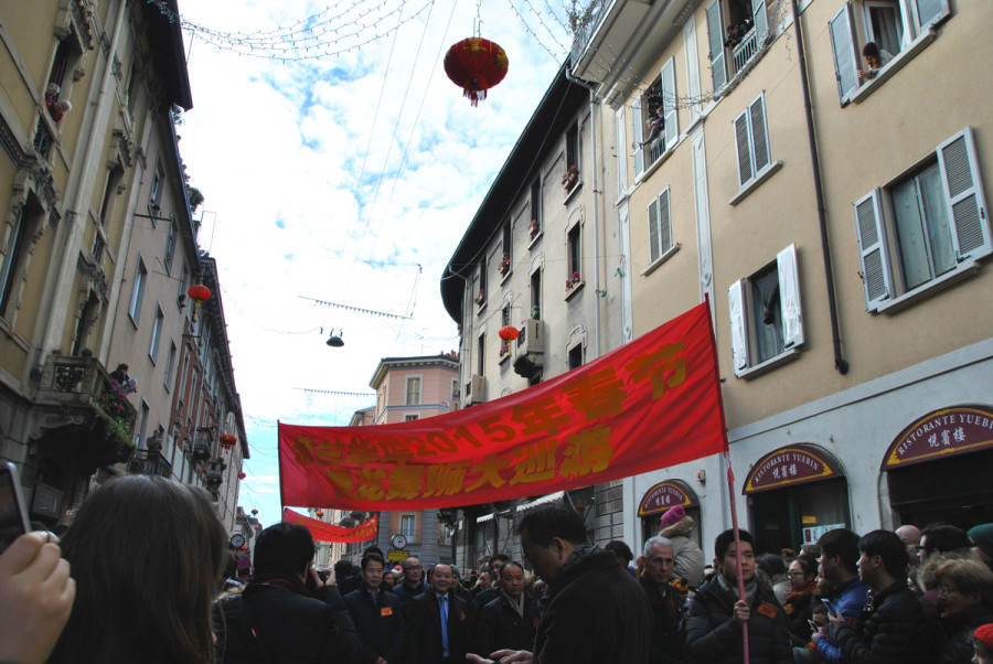 Capodanno Cinese Via P.Sarpi