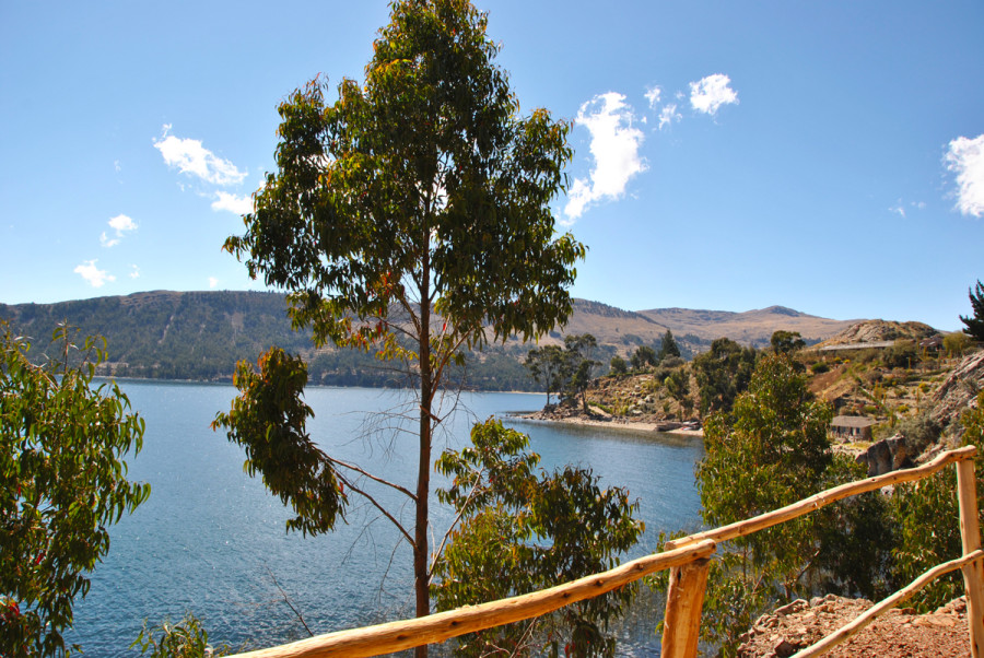 Vista sul Titicaca